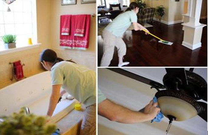 Cách dọn dẹp nhà mới xây