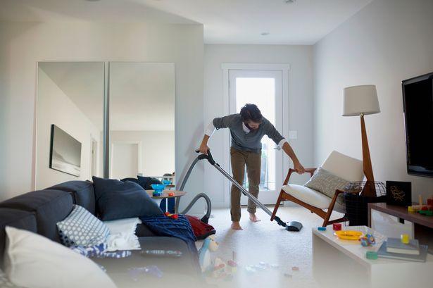 Cách làm sạch phòng khách