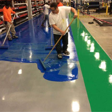 Dịch vụ sơn sàn epoxy nhà xưởng Đà Nẵng