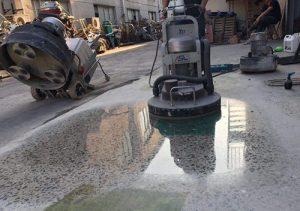 hướng dẫn cách đánh bóng sàn bê tông